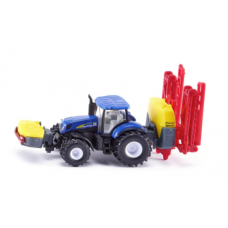 Models Siku New Holland Tractor with Crop Sprayer 1:87 S1799