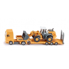 Models Siku Low Loader with Four Wheel Loader 1:87 S1839 Call for availability prior to ordering 057 9341734