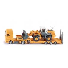 Models Siku Low Loader with Four Wheel Loader 1:87 S1839