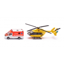 Models Siku Rescue Service Set  S1850 Call for availability prior to ordering 057 9341734