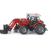 Models Siku Massey Ferguson with Front Loader Fork 1:32 S3653 Call for availability prior to ordering 057 9341734