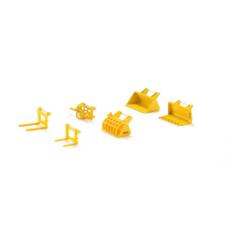 Models Siku Front Loader Accessories Set 1:32 S7070